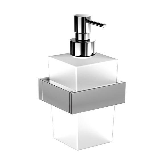 Steinberg Series 460 soap dispenser chrome/satin white