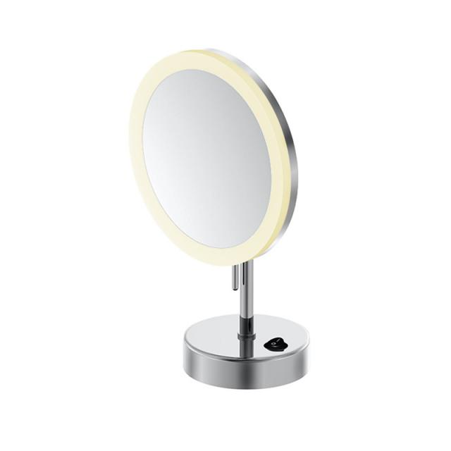 Steinberg series 650 LED freestanding beauty mirror with battery
