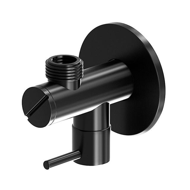 Steinberg Universal angle valve matt black
