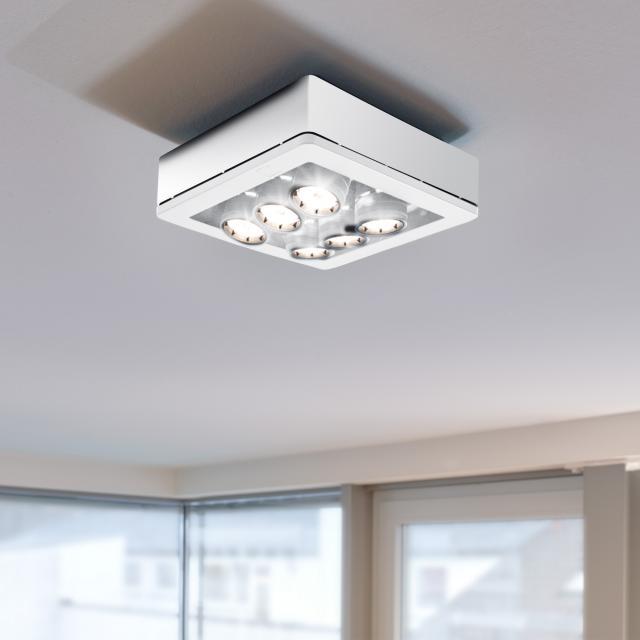 STENG Licht COMBILIGHT LED ceiling light / spotlight 6 heads