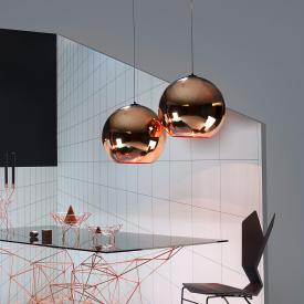 Tom Dixon Copper Round 25 pendant light