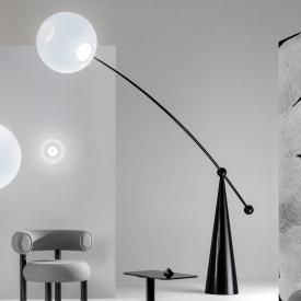 Tom Dixon Opal Arc LED floor lamp