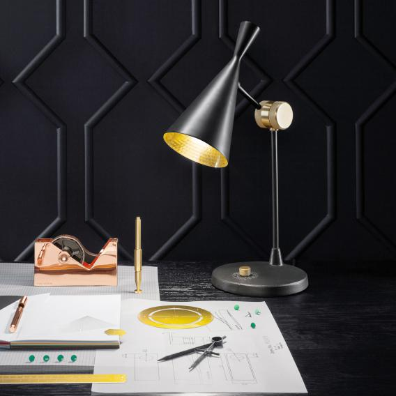 Tom Dixon Beat Table Lamp With Dimmer, Bedside Lamp With Dimmer Switch