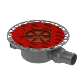 TECE drainpoint S drain DN 50 standard with Seal System universal flange