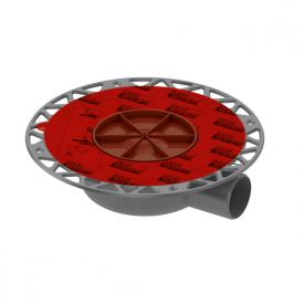TECE drainpoint S drain DN 50 terrace with Seal System universal flange