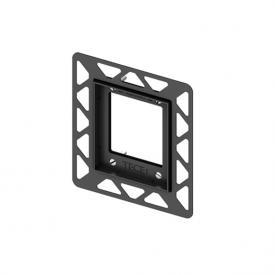 TECE loop / square urinal installation frame for flush-mounted installation black
