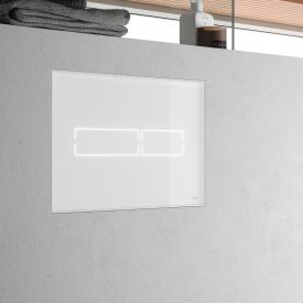 TECE lux Mini flush plate with electronic touch actuation white