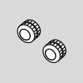 TECE one knurled nut set for concealed fittings
