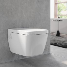 TECE one wall-mounted washdown toilet, with shower function SET, with toilet seat