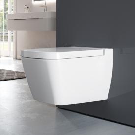TECE one wall-mounted washdown toilet, SET, with toilet seat