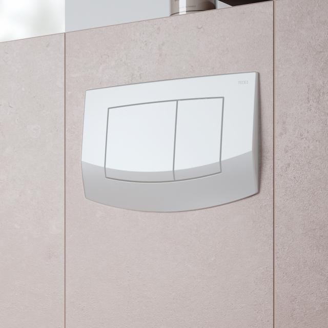 TECE ambia toilet flush plates for dual flush system white