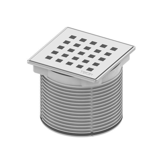 TECE drainpoint S grate frame made of stainless steel