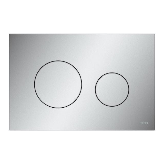 TECE loop toilet flush plate matt chrome