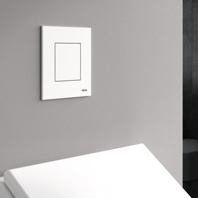 TECE now urinal flush plate including cartridge white