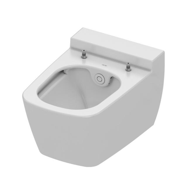 TECE one wall-mounted, washdown toilet, with shower function, cold water