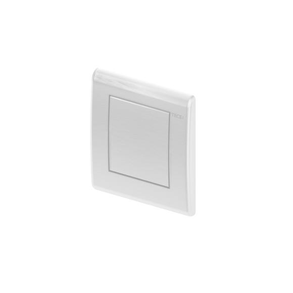 TECE planus urinal flush plate incl. cartridge silk matt white