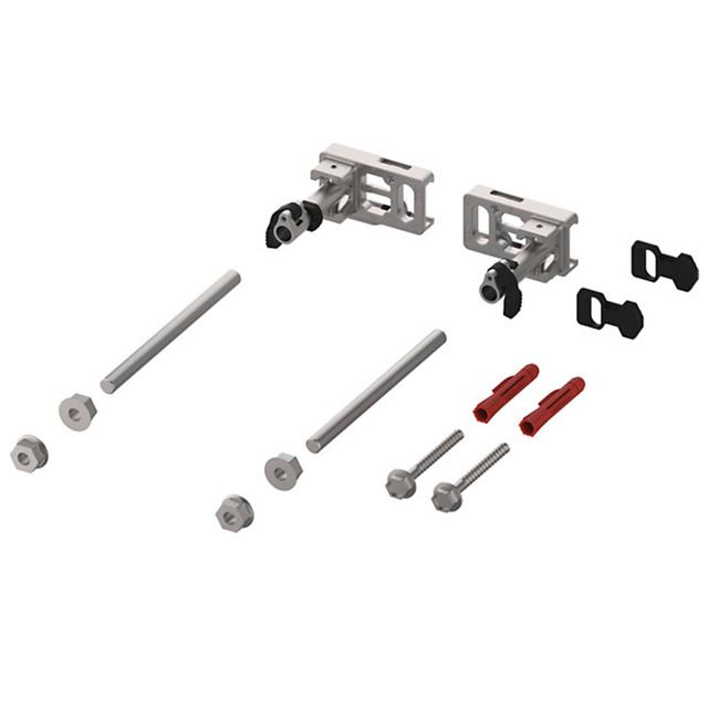 TECE profil module mount with depth adjustment and quick-release fastener