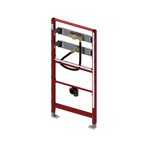 TECE profil urinal module H: 112 cm, with TECE flush valve housing