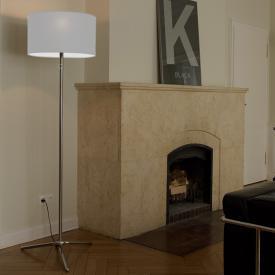 TECNOLUMEN Baton floor lamp with pull switch