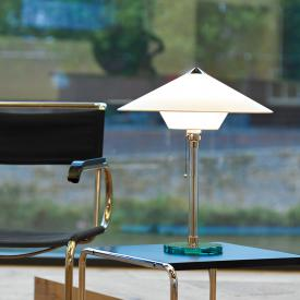 TECNOLUMEN Wagenfeld WG 28 table lamp, bottom shade conical