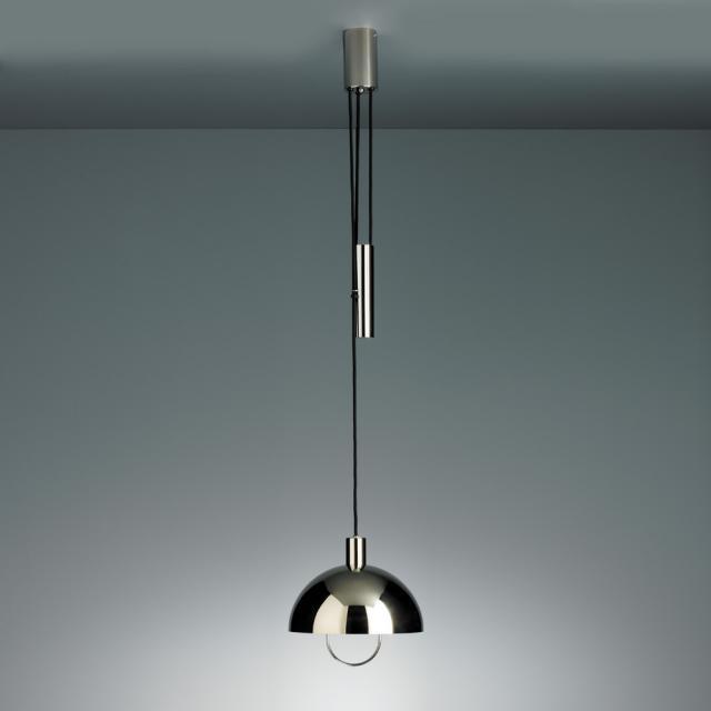 TECNOLUMEN HMB 25/300 Z Ni pendant light with pulley