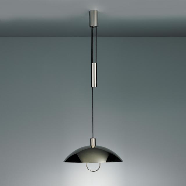 TECNOLUMEN HMB 25/500 Z Ni pendant light with pulley