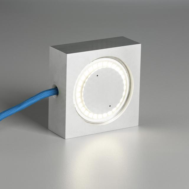 TECNOLUMEN Square LED multi-purpose lamp with dimmer