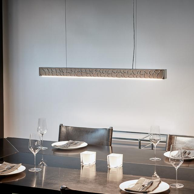 TECNOLUMEN Theia LED pendant light with dimmer