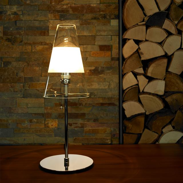 TECNOLUMEN TLWS 03 table lamp with pull switch