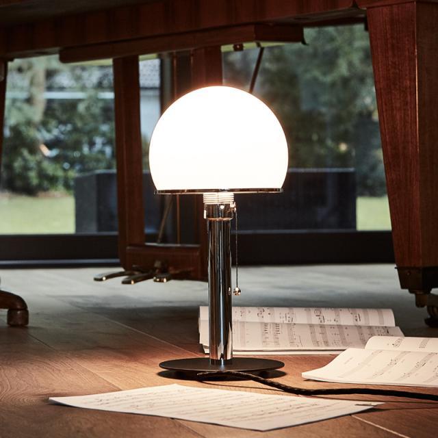 TECNOLUMEN Wagenfeld WG 23 SW table lamp