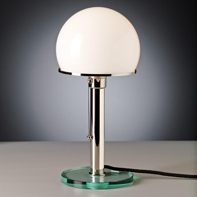 TECNOLUMEN Wagenfeld WG 25 GL table lamp