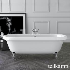 Tellkamp Antiqua freestanding oval bath white gloss, panel white gloss