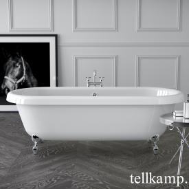 Tellkamp Antiqua Plus freestanding oval bath white gloss, panel white gloss