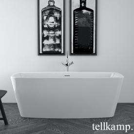 Tellkamp Art freestanding rectangular bath white gloss