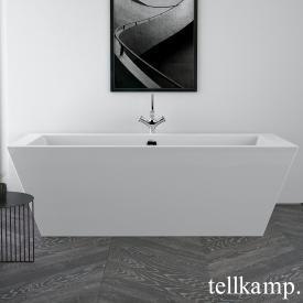 Tellkamp Base freestanding rectangular bath white gloss, without filling function