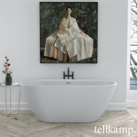 Tellkamp Cosmic freestanding oval bath matt white, panel matt white