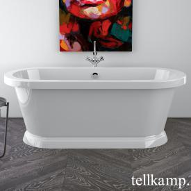 Tellkamp Elegance Base freestanding oval bath white gloss