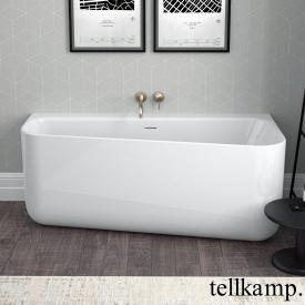 Tellkamp Koeko L compact bath, left version white gloss, without filling function