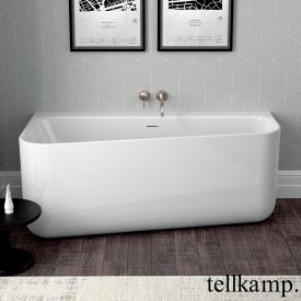 Tellkamp Koeko R compact bath, right version white gloss, without filling function
