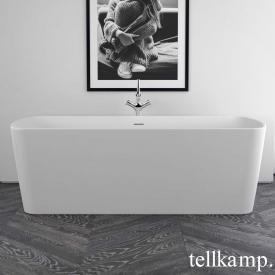 Tellkamp Komod freestanding rectangular bath matt white, without filling function