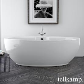 Tellkamp Orbital freestanding oval bath white gloss, without filling function