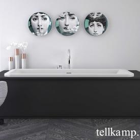 Tellkamp Pura Fix rectangular bath white gloss, without filling function