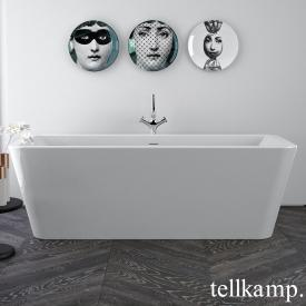 Tellkamp Pura freestanding bath white gloss, without filling function