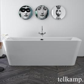 Tellkamp Pura freestanding rectangular bath white gloss, without filling function