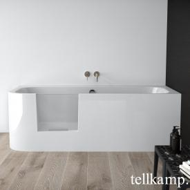 Tellkamp Salida L rectangular bath with door left white gloss