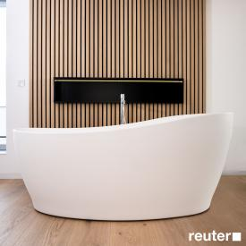 Tellkamp Sao freestanding bath matt white, panel matt white