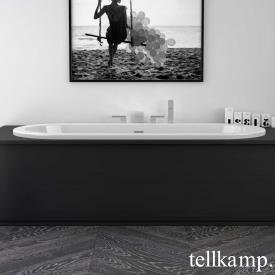 Tellkamp Solitär Fix oval bath white gloss