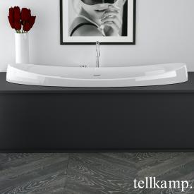 Tellkamp Spirit Fix Baignoire ovale blanc brillant, sans fonction de remplissage