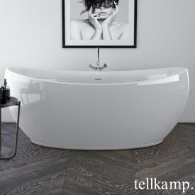 Tellkamp Spirit freestanding, oval whirl bath white gloss