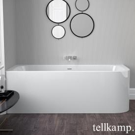 Tellkamp Thela R corner whirl bath white gloss